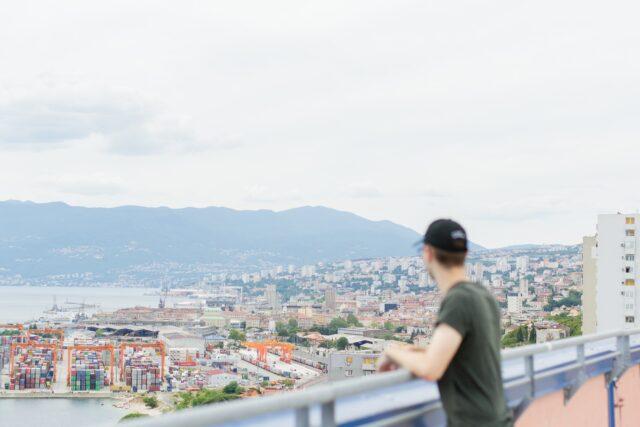 Overlooking Croatia